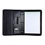 Multifunctional Professional Business Portfolio Padfolio Folder Document Case Organizer A4 PU Leather Zippered Closure thumbnail
