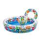 Bể bơi tròn cho bé 3 chi tiết (giao màu ngẫu nhiên) thumbnail