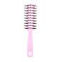 Lược thơm bán nguyệt Nhật Bản tạo độ phồng cho tóc MINISO RESIN GLOSSY ROLL COMB ( màu hồng nhạt) chính hãng MNS104 4