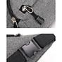 Túi đeo chéo bao tử nam nữ thời trang nhiều ngăn MIBAG41 7