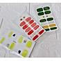 Miếng dán trang trí móng tay 1 bộ 12 miếng combo 3 bộ ( mẫu ngẫu nhiên ) 6