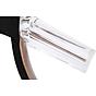 Giày Cao Gót Nữ Màu Đen Da Nhung Mịn Cao Cấp Gót Trong Suốt Tôn Dáng Đẹp CTCGQ8010 7