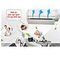 Tấm chắn gió máy lạnh, điều hòa treo tường bằng nhựa cao cấp thumbnail