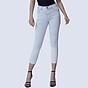 Quần Jean Nữ Aaa Jeans Skinny Lưng Cao Dáng Lửng Màu Snow Blue thumbnail