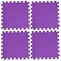 Bộ 4 tấm Thảm xốp lót sàn an toàn Thoại Tân Thành - màu tím (50x50cm) thumbnail