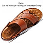 Giày Sandal phong cách thời trang Nhật Bản đế mềm chất liệu da bò thật phù hợp với các mùa trong năm mã 12129 3