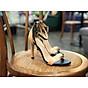 Sandal nữ quai mảnh phối màu thời trang đế 7p xinh xắn S73 thumbnail