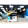 Thẻ Nhớ Energizer 32GB Micro SDHC Class 10 Up To 80mb/s (Kèm Adapter) FMDAAH032A - Hàng Chính Hãng