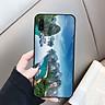 Ốp kính cường lực cho điện thoại Samsung Galaxy A50 - vịnh hạ long MS HALONG002 - Hàng Chính Hãng