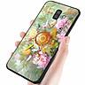 Ốp kính cường lực cho điện thoại Samsung Galaxy J6 PLUS - cá chép MS CA005