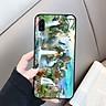 Ốp kính cường lực cho điện thoại Samsung Galaxy A7 2018/A750 - hổ MS CONHO003 - Hàng Chính Hãng