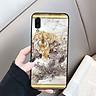 Ốp điện thoại kính cường lực cho máy Samsung Galaxy A10/M10 - hổ MS CONHO008 - Hàng Chính Hãng