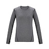 Beijing Tokyo made J.ZAO ladies sports long-sleeved T-shirt vitality dynamic color sports T-shirt gray M