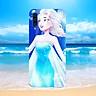 Ốp kính cường lực cho điện thoại Samsung Galaxy A50 - công chúa MS CCD1001-Hàng Chính Hãng Cao Cấp