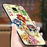 Ốp điện thoại kính cường lực cho máy Samsung Galaxy A50 - mẫu đơn MS HOA048 - Hàng Chính Hãng
