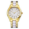 Đồng hồ Nữ Timothy Stone Women's CHARME-BICOLOR Gold-Tone and White Watch - C-022