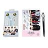 Bộ quà EXO tặng bút bi EXO lightstick
