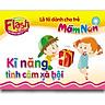 Combo 10 Hộp Flash Card song ngữ Anh Việt – Lô tô cho trẻ mầm non - chủ đề: Kĩ năng tình cảm xã hội