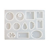 Resin Casting Silicone Mold Jewelrys Making DIY Craft Mould Tools For Pendant Necklace Bracelet