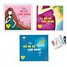 Combo 3 cuốn Cẩm nang dành cho mẹ bầu và thai nhi : Bố mẹ kể con nghe + Mẹ kể con nghe + Bố kể con nghe   - ( tặng kèm Bookmark  Aha