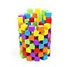 100 Hạt gỗ lập phương màu sắc đồ chơi gỗ giáo dục Montessori - HH1121