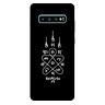 Ốp lưng nhựa cứng nhám dành cho Samsung Galaxy S10 Plus in hình Hình Săm