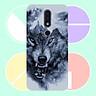 Ốp điện thoại dành cho máy dành cho máy Nokia 8.1 - Đôi mắt sói MS DMSD010 - Hàng Chính Hãng