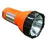 Đèn Pin LED Điện Quang ĐQ PFL08 R OBL (Pin sạc) - Cam Đen
