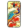 Ốp Lưng Viền TPU cho điện thoại Samsung Galaxy J7 Plus - Khổng Tước 03