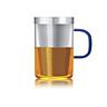 Ly lọc trà thủy tinh Samadoyo S050C 500mL (Xanh)