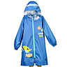 Lemon baby lemonkid children's polyester cloth raincoat boys and girls raincoat children's children students cartoon poncho LK015616 blue toucan upgrade version L
