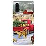 Ốp điện thoại dành cho máy Huawei P30 - giáng sinh đầm ấm MS GSDA022