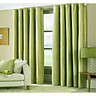 Rèm cửa vải LUCYA18-24 có thanh treo hợp kim nhôm màu vàng đồng đầu nhọn - cao cố định 2m