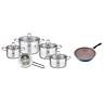 Bộ Nồi ELO Premium Excellent 5 Chiếc Bếp Từ Tặng 1 Chảo ILO Ceramic Hàn Quốc