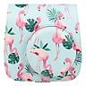 Bao Da Bảo Vệ Máy Chụp Ảnh Lấy Liền Instax Mini 9 / Mini 8 - Leaves Flamingo
