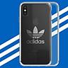 Ốp Lưng Nhựa Mỏng Adidas Dành Cho iPhone X