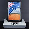 Bật Lửa Zippo 200 Flag And Landscape