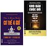 Combo 2 cuốn : Cơ Thể 4 Giờ - Bí Quyết Cân Đối, Khỏe Mạnh Và Đời Sống Tình Dục Thăng Hoa + Kho báu cuộc đời (Tặng kèm Bookmark thiết kế AHA / Bộ Sách Thay Đổi Tư Duy)