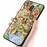 Ốp điện thoại kính cường lực cho máy Samsung Galaxy J6 - cá chép MS CA007