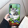 Ốp kính cường lực cho điện thoại Samsung Galaxy A7 2018/A750 - dễ thương muốn xỉu MS CUTE022