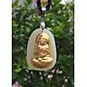 Mặt dây Ngọc Nerphrite Phật A Di Đà  Hộ Mệnh Tuổi Tuất Mệnh Thổ YUM1