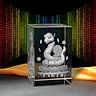 Tượng 3D Con Rắn (Tỵ) - Trang Trí Xe Ô tô/ Bàn Làm Việc - Bằng Pha Lê