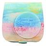 Bao Da Bảo Vệ Máy Chụp Ảnh Lấy Liền Instax Mini 9 Hoặc Mini 8 - Water Color