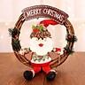 Vòng Tròn Treo Cửa Trang Trí Giáng Sinh