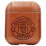 Bao Da Cover Apple Airpods 1 / 2 Premium  Khắc Hình Câu Lạc Bộ Mu Manchester United (Fc Mu)