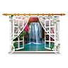 Decal Dán Tường Cửa Sổ Thác Nước Binbin P259 (90 x 60 cm)