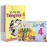 Sách Giáo Khoa Bộ Lớp 4 - Sách Bài Tập + Vở Tập Vẽ (Bộ 12 Cuốn)