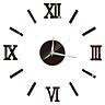 Simple Art Home Decor Larger Clocks Digital Watches Rome Modern Living Room Bedroom 3D DIY Paste Decorative Wall Clock