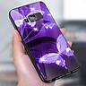 Ốp kính cường lực cho điện thoại Samsung Galaxy S8 - bướm đẹp MS BUOMD047 - Hàng Chính Hãng