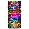Ốp lưng cứng viền dẻo dành cho điện thoại iPhone 6 Plus/6s Plus - trái tim tình yêu MS LOVE014 - Hàng Chính Hãng